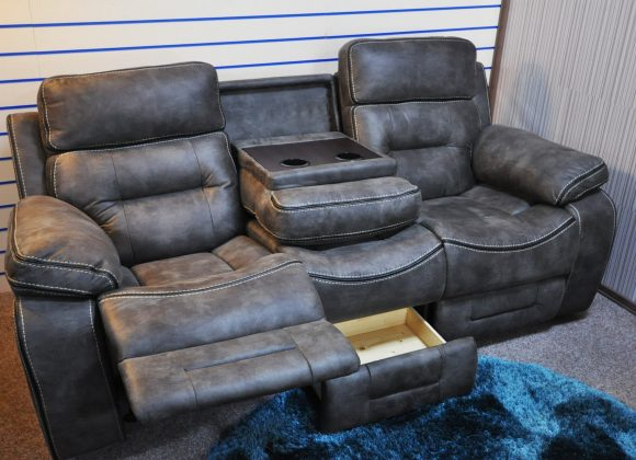 Colorado – 1 x 3 seater & 1 x 2 x Armchair manual recliners
