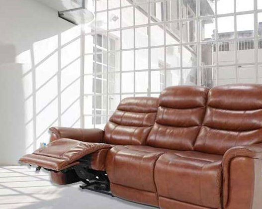 Sheridan -Lazboy Leather Sofa