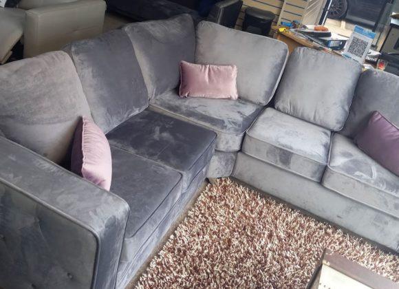 Amalfi – Soft fabric corner sofa