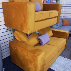 Capri – Giallo 3 Seater and 2 Seater